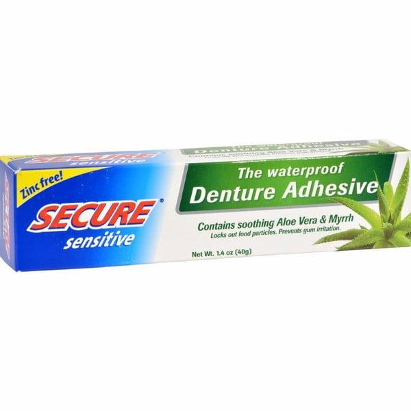 Secure Sensitive Denture Adhesive 1 4 Oz Walmart Com