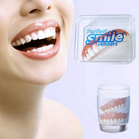 False Fake Instant Cosmetic Silicone Simulation Denture Teeth Veneer Comfort