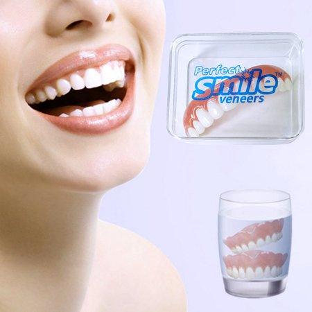 False Fake Instant Cosmetic Silicone Simulation Denture Teeth Veneer Comfort - Fake Buck Teeth