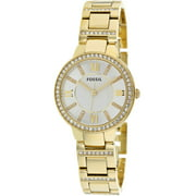 Women's Virginia ES3283 Gold Stainless-Steel Quartz Fashion Watch