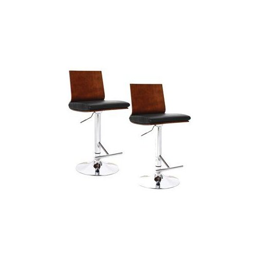 Leick 10053 Favorite Finds Flat Back Swivel Bar Stool (Set of 2) by Brand New