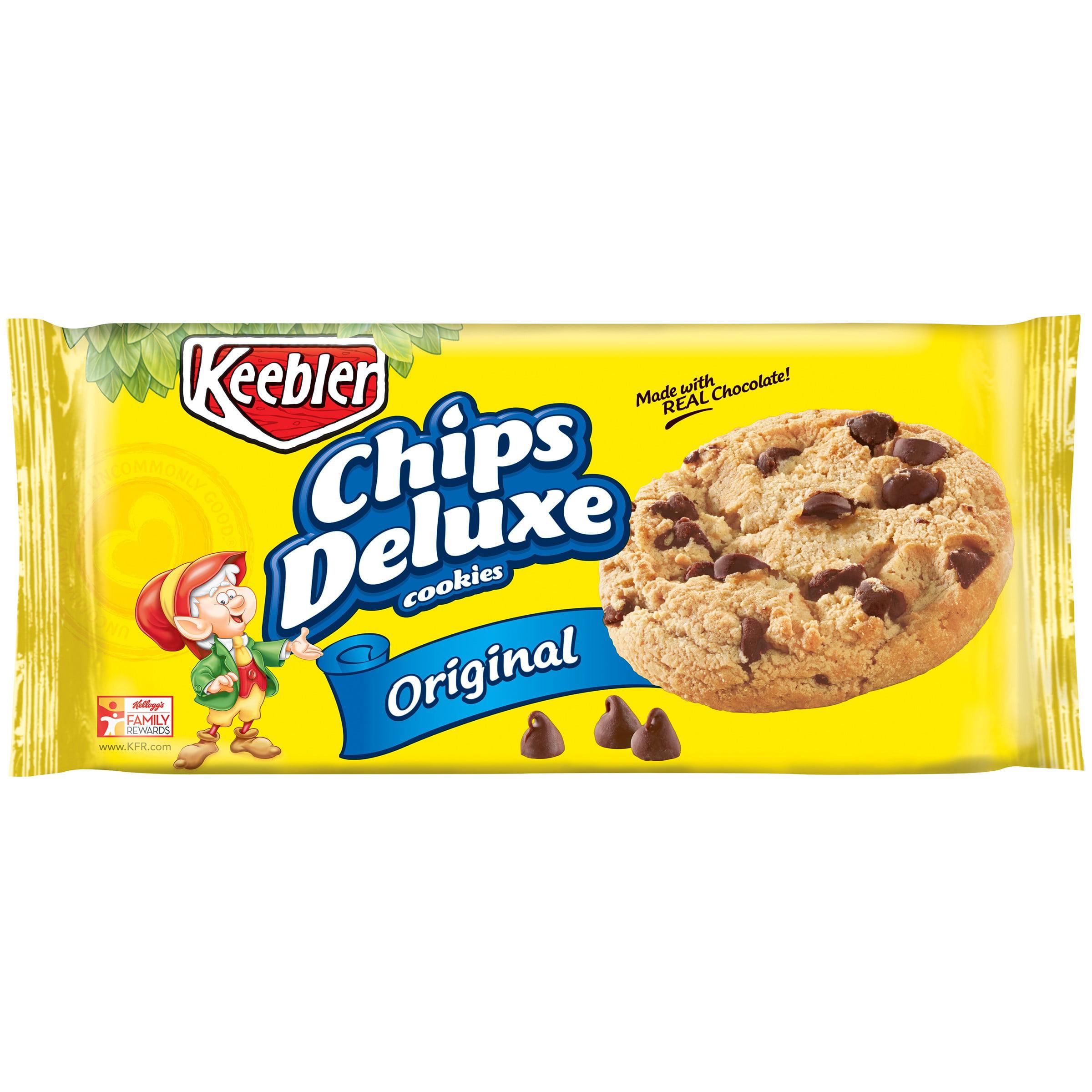 keebler chips deluxe original cookies 12 6 oz pack walmart com