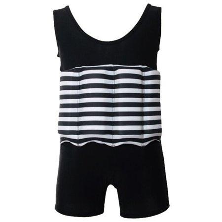 (Swim Trainer for Kids, Coxeer One Piece Floating Swimwear Flotation Suit for Little Girls & Boys)
