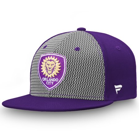 Orlando City SC Fanatics Branded Versalux Fitted Hat - (Boutique Eye Orlando)
