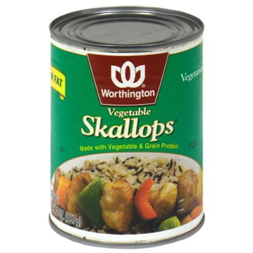 Kelloggs Worthington  Vegetable Skallops, 20 oz