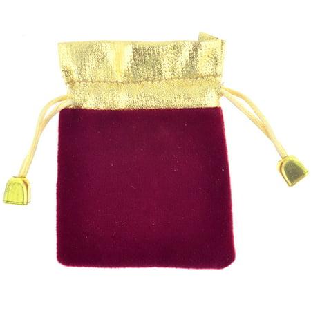 ... Dark Red Rectangle Shape Wedding Candy Gift Bag - Walmart.com