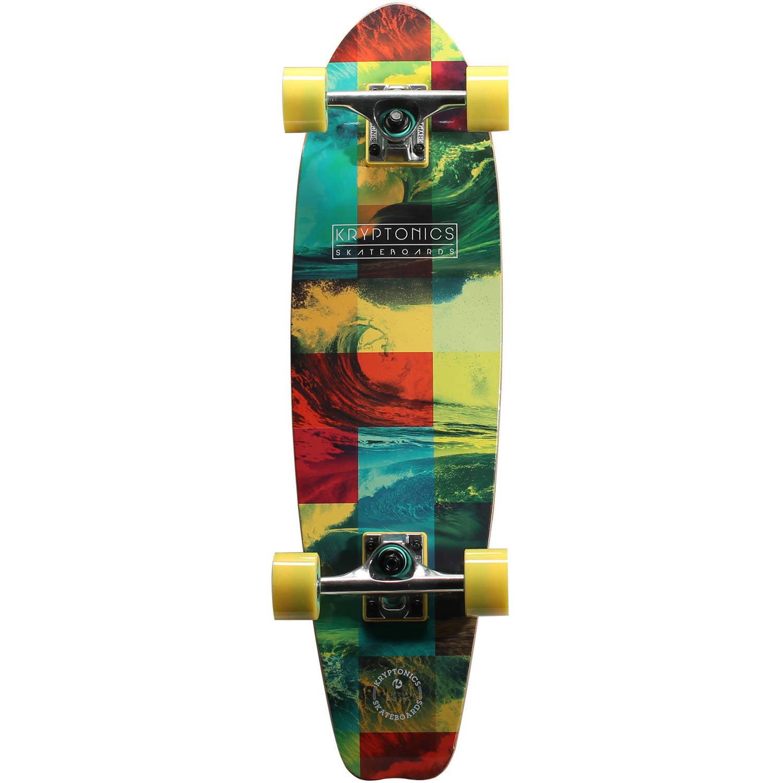 "Kryptonics Complete Cruiser Skateboard, 28"" x 7.5"""