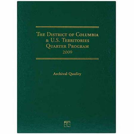Us Territories Quarters - U.S. Territory and D.C. Quarter Folder, 2009