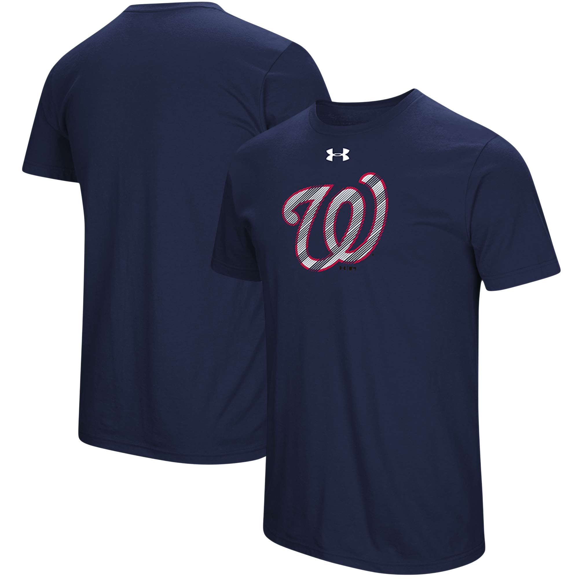 Washington Nationals Under Armour Passion Alternate Logo T-Shirt - Navy