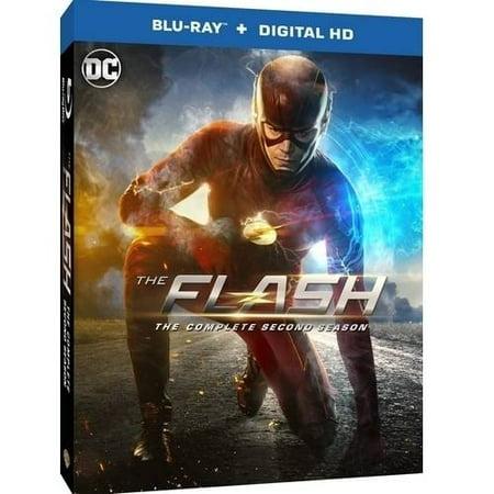 The Flash  Season 2  Blu Ray   Digital Hd With Ultraviolet