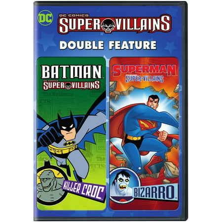 DC Super Villains: Batman Killer Croc / Superman Bizarro (DVD) (Batman Villain List)