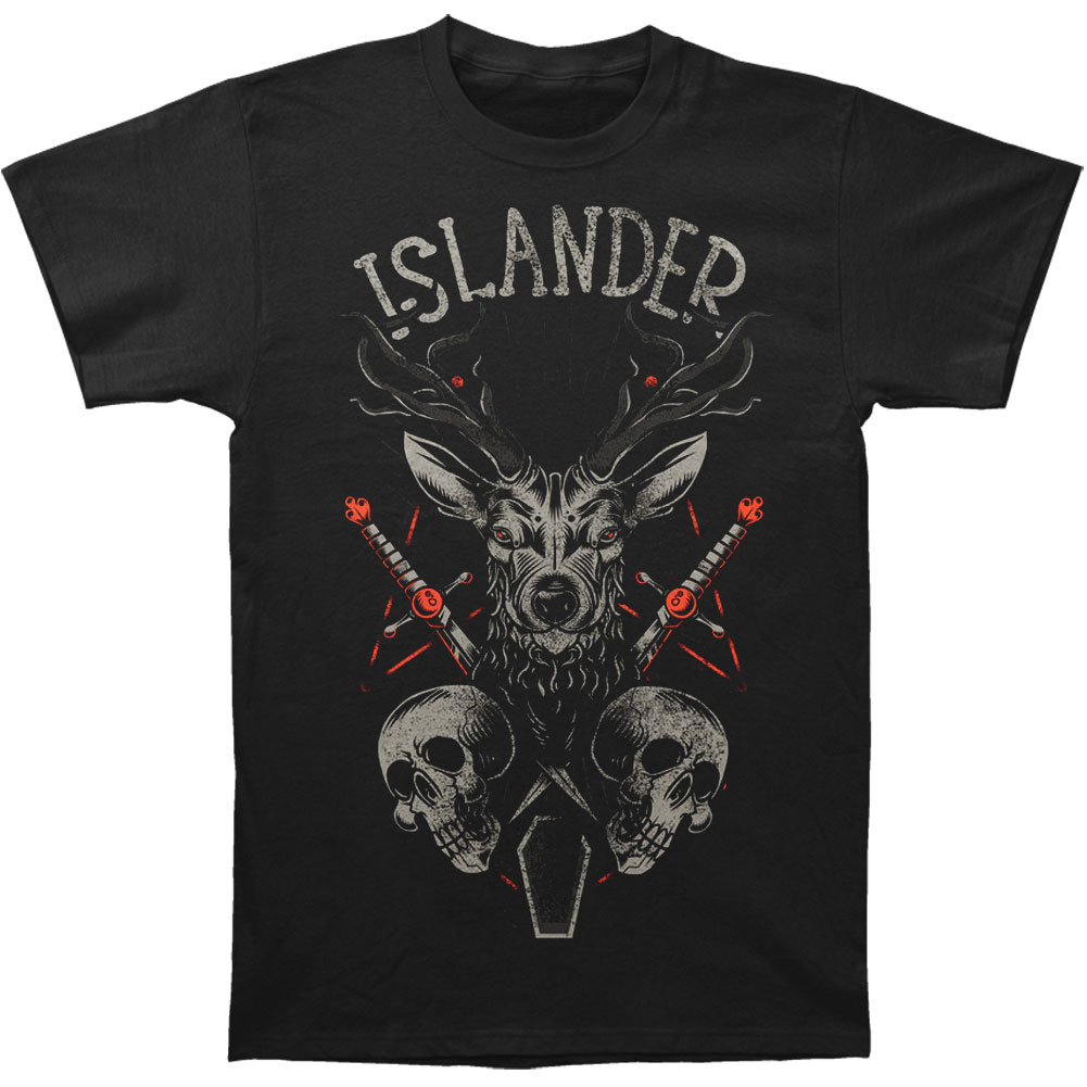 Islander Men's  Buck T-shirt Black