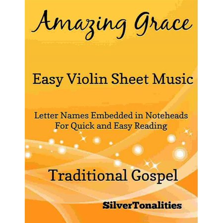 Amazing Grace Easy Violin Sheet Music - eBook