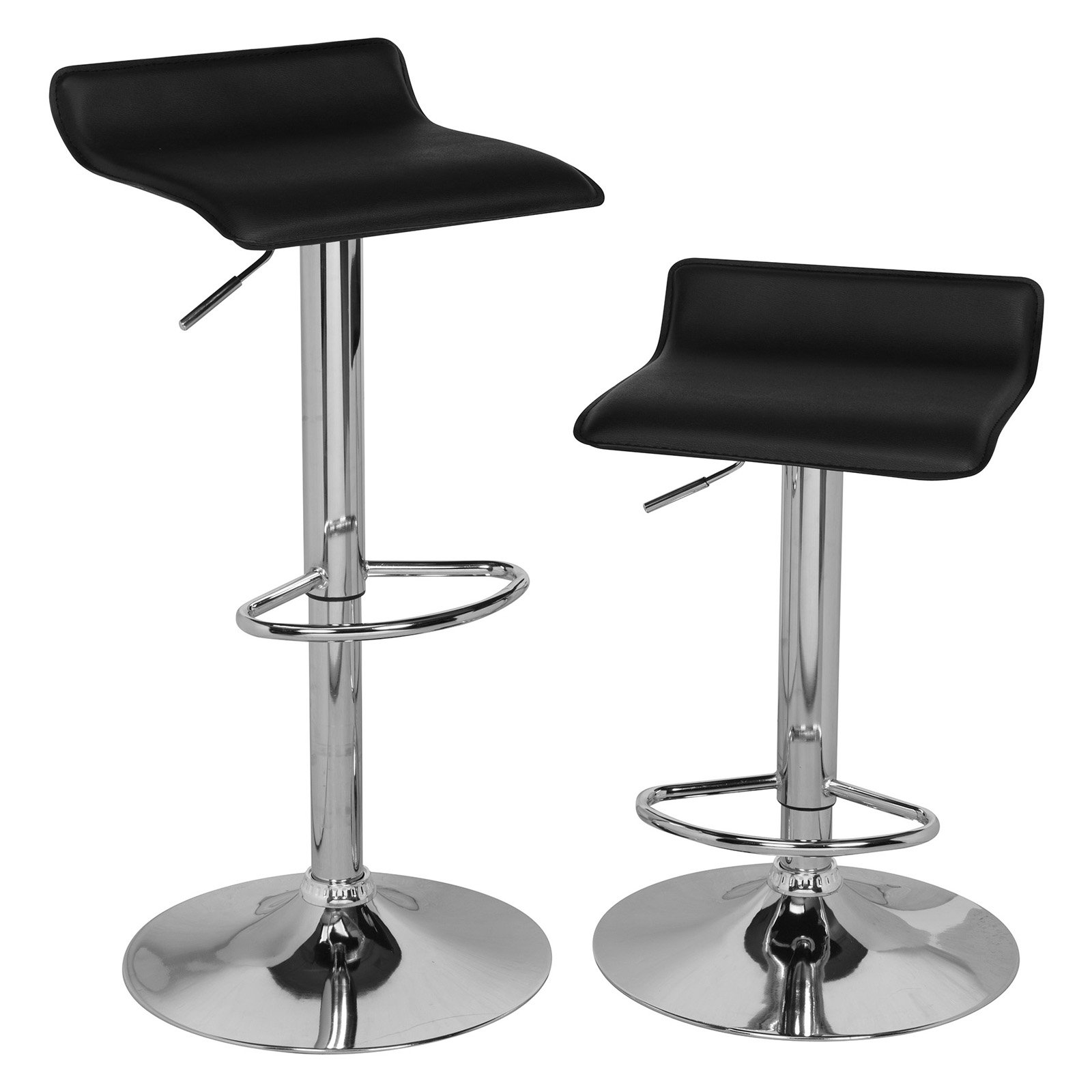 Comfort Products Adjustable Bar Stools, Set of 2