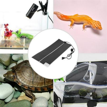 New Ir 35W Adjustable Temperature Heating Pad For Reptile Amphibian Pet 65X28