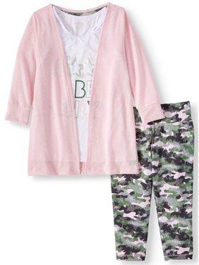b92ec54e371f Big Girls Activewear Outfit Sets - Walmart.com