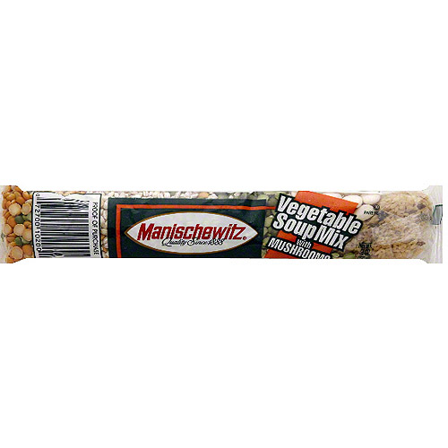 Manischewitz Vegetable Soup Mix With Mushrooms, 6 oz (Pack of 24) by Generic