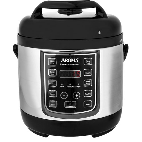 Aroma 2.5 Qt. Professional Digital Electric Pressure Cooker by