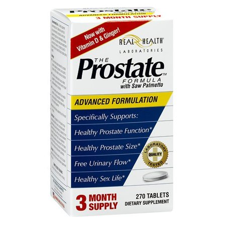 Real Health Laboratories Real Health The Prostate Formula with Saw Palmetto, 270 (Best Saw Palmetto For Prostate)