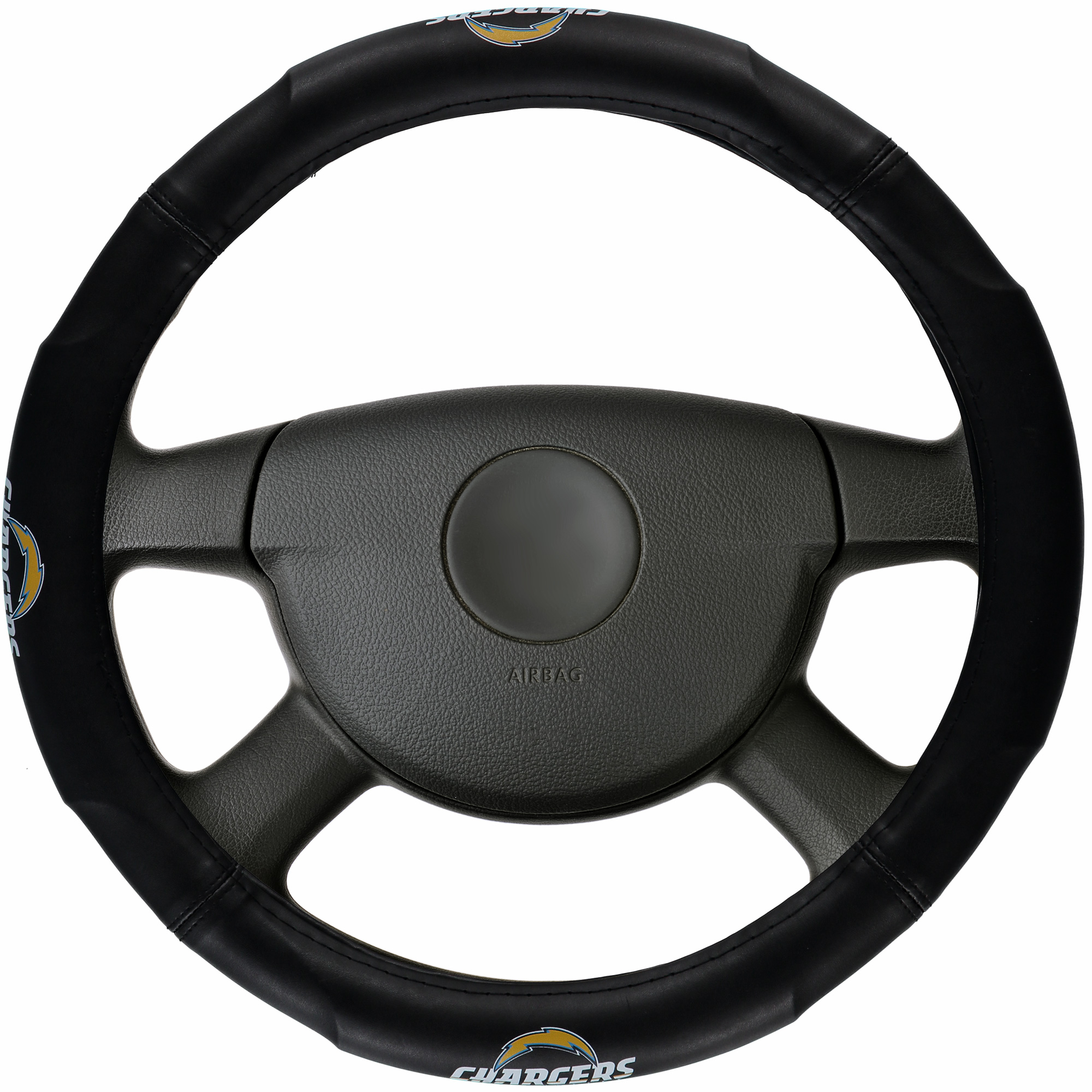 Los Angeles Chargers Steering Wheel Cover - No Size