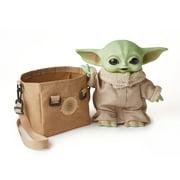 Star Wars Grogu Plush Toy, 11-In Yoda Baby Figure From The Mandalorian