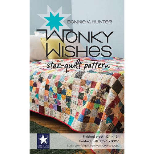 Kansas City Star Quilts Books-Wonky Wishes Star Quilt Pattern