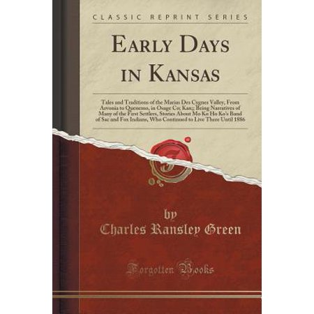 Valley Ho Halloween (Early Days in Kansas : Tales and Traditions of the Marias Des Cygnes Valley, from Arvonia to Quenemo, in Osage Co; Kan;; Being Narratives of Many of the First Settlers,)