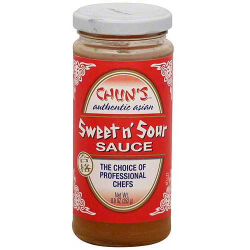 Chun's Authentic Asian Sweet n' Sour Sauce 8.9 oz (Pack of 12)