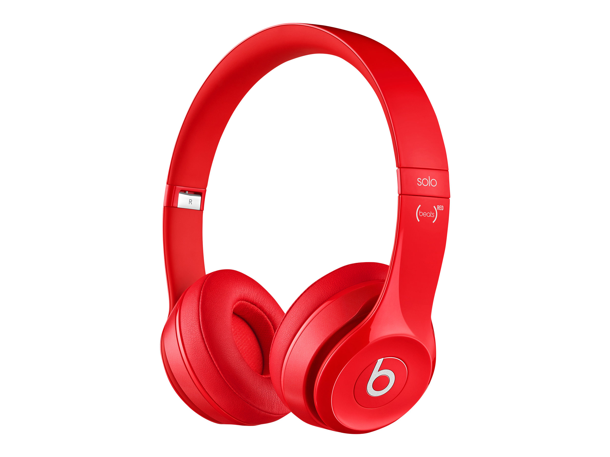 Beats by Dr. Dre Solo2 Corded Over-Ear Headphones, Red by Beats by Dr. Dre
