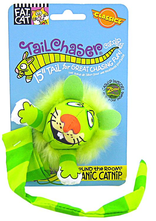Fat Cat Kitty Hoots Tail Chasers Catnip Cat Toy by Fat Cat, Inc