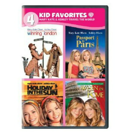 4 Kid Favorites: Mary-Kate & Ashley Travel the World (DVD)