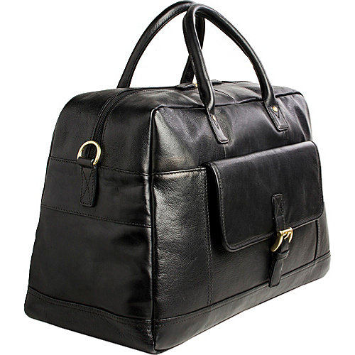 Hidesign Hunter Cabin Sized Duffel in Classic Leather