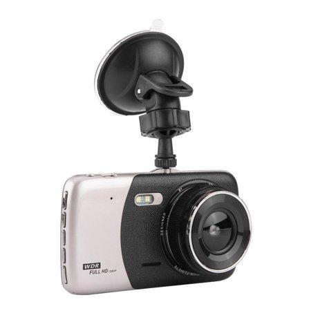 LHCER 4Inch HD 1080P Car DVR Driving Video Recorder Dual Lens Dash Camera Night Vision, Car Dash Camera, HD Car DVR - image 10 of 13