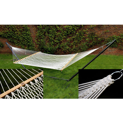 Classic Cotton Rope Hammock, Natural