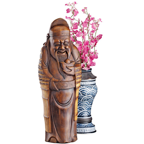 Design Toscano God of Good Fortune Figurine