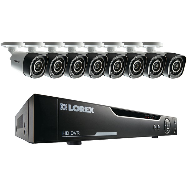 Lorex LHV10162TC8 16-Channel 720p HD Security System with 8 720p HD Cameras