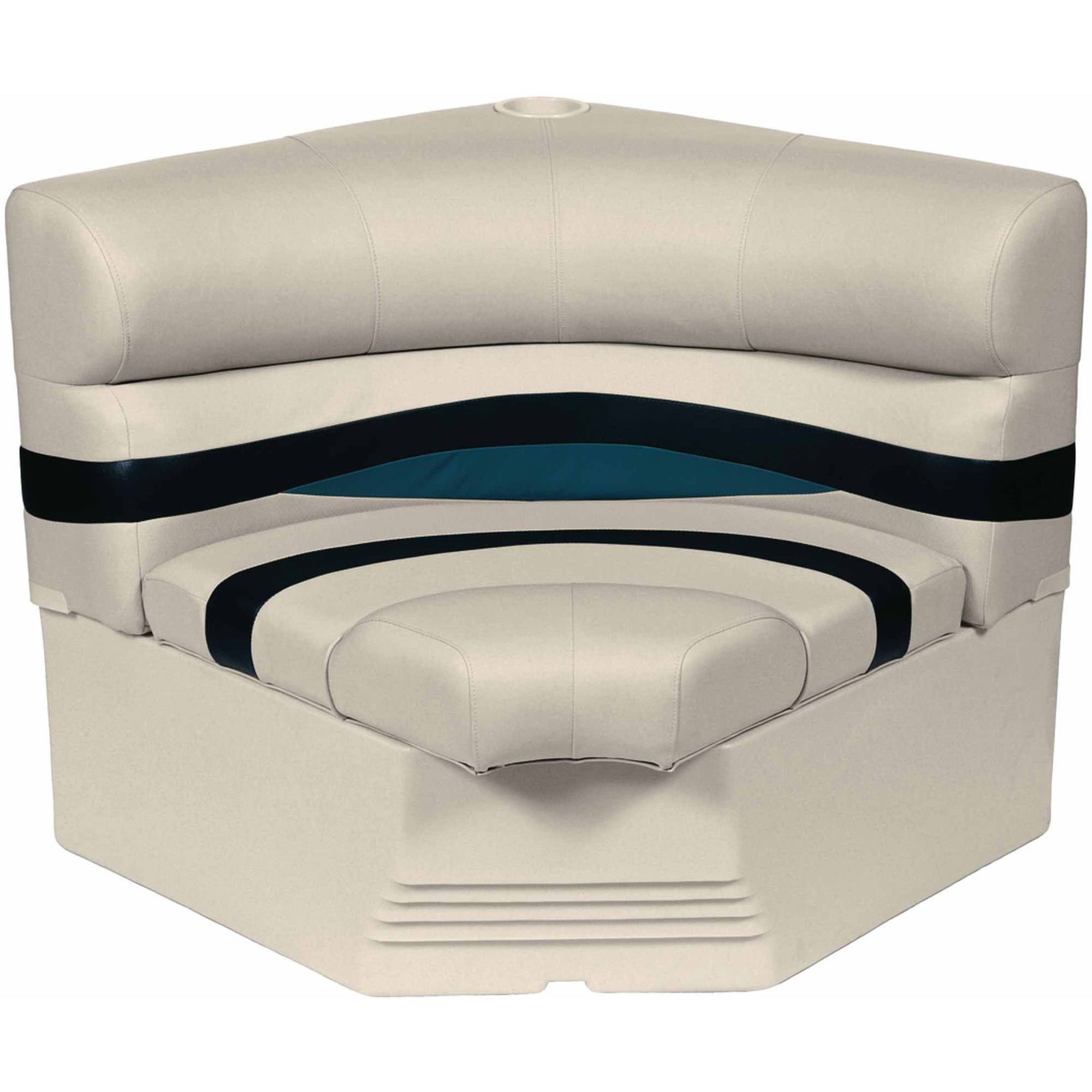 "Wise Premier Series Pontoon 32"" Radius Corner Seat and Base"