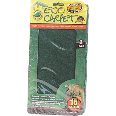 Zoo Med Reptile Cage Carpet 10 20 Gallon Tanks 24 Long