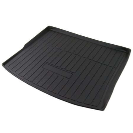 Jeep Cargo Mat - TuningPros CLTM-101 Custom Fit Black Trunk Floor Mat For 2014-2018 Jeep Cherokee - 1 pcs Set Cargo Liner Jeep Cherokee 14 15 16 17 18