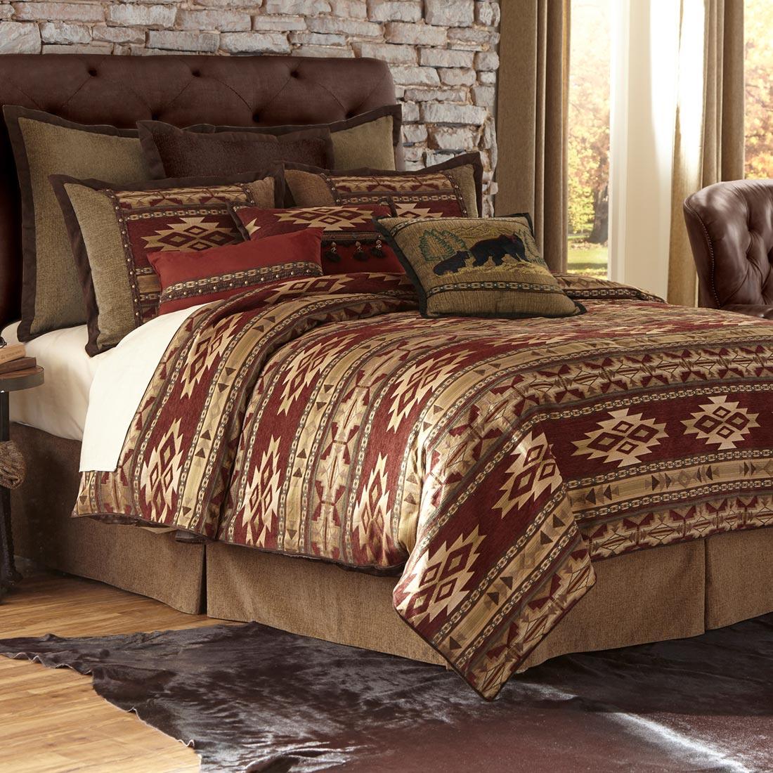 Desert Rust Comforter Set King Walmart Com
