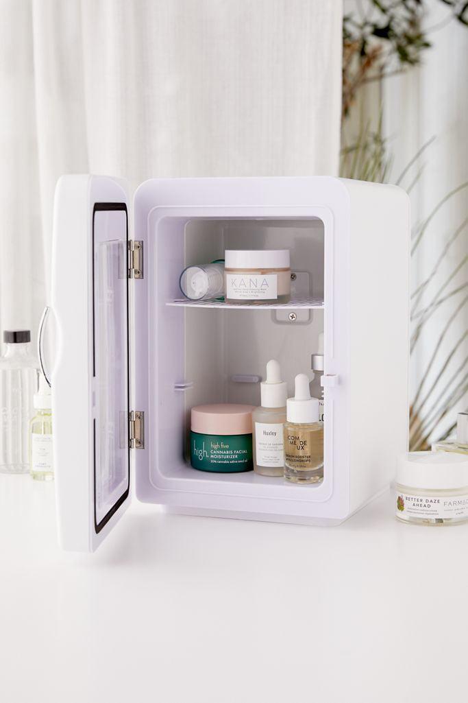 Vanity Planet Fria Mini Skincare Refrigerator White Walmart Com Walmart Com