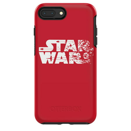 new concept 6dcdf 498ed Otterbox Symmetry Series Star Wars for iPhone 8 Plus & iPhone 7 Plus,  Resistance Red