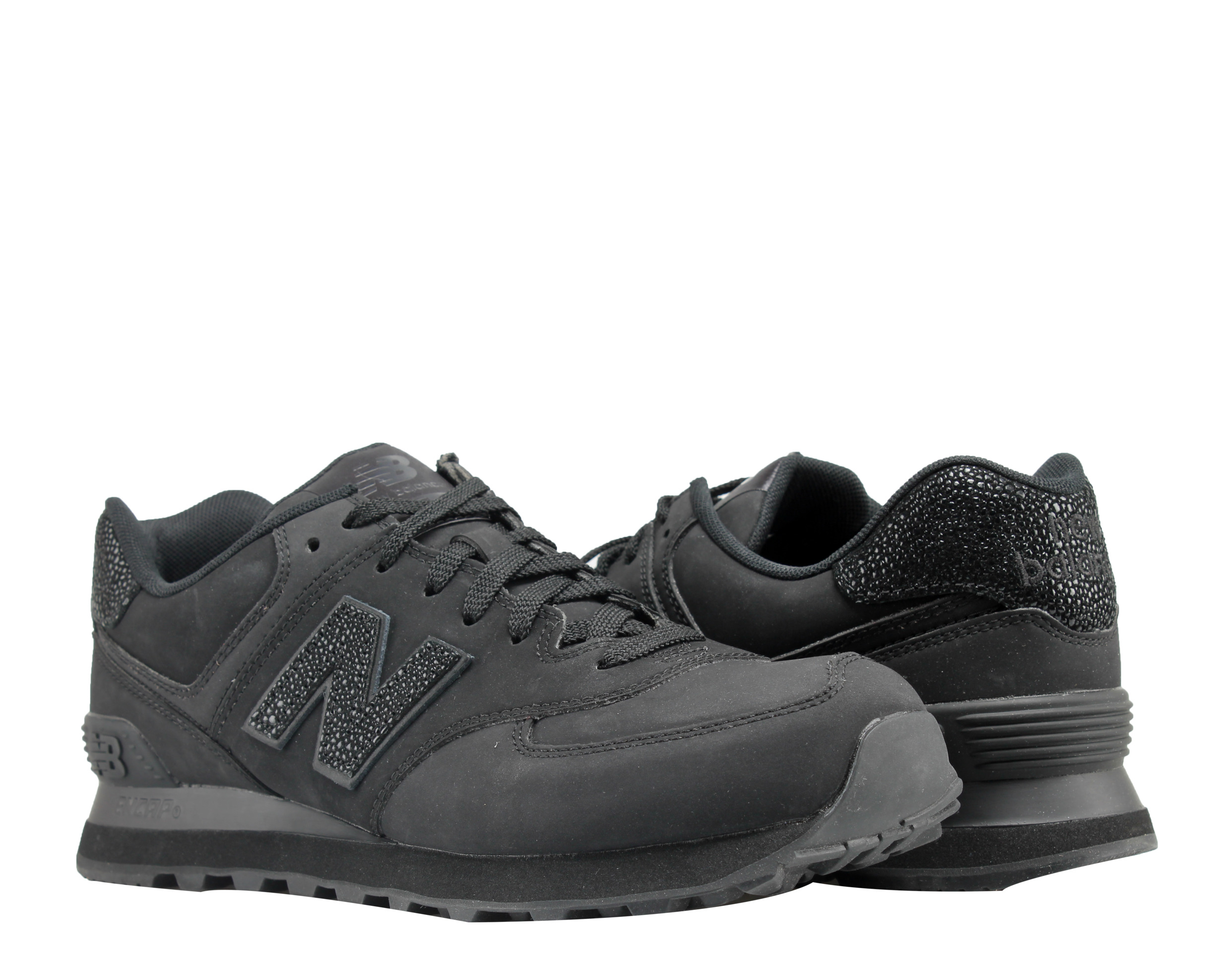 New Balance 574 Black Caviar Pack Men's Running Shoes ML574BEX by
