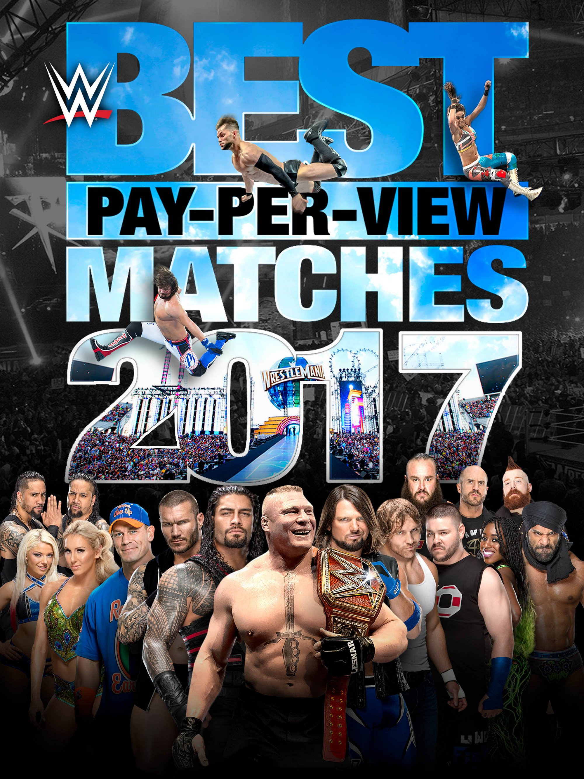 WWE: Best PPV Matches 2017 (DVD) by