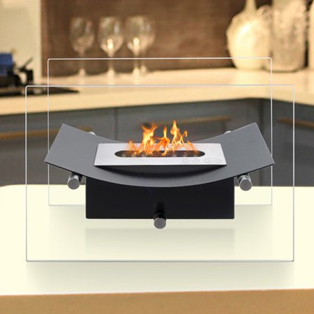 Ignis Products Verona Ventless Bio Ethanol Tabletop Fireplace