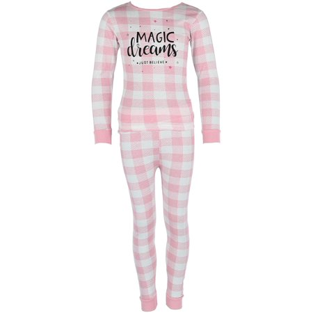 Children's Long Sleeve 2 Piece Pajama - 2 Piece Long Sleeved Pajamas