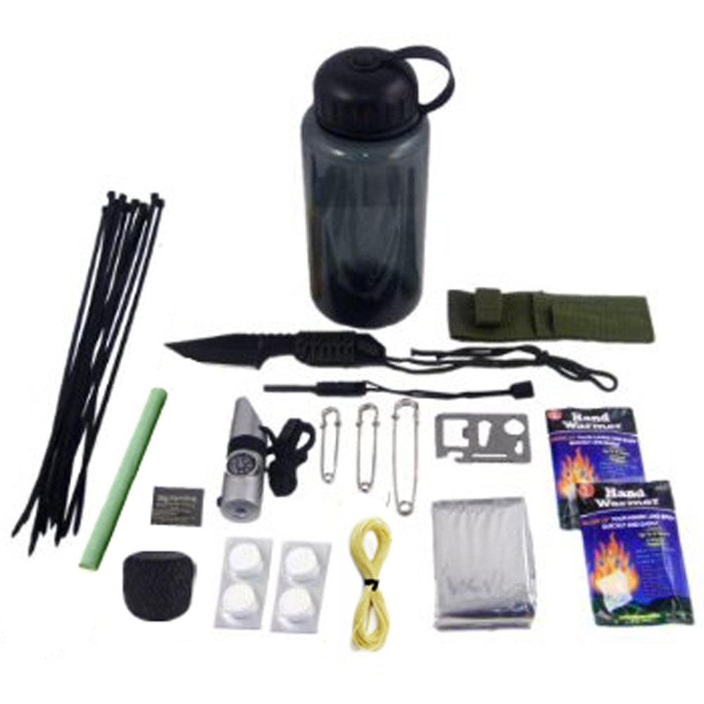 30-in-1 Ultimate Outdoor Emergency Survival Kit by ASR Outdoor