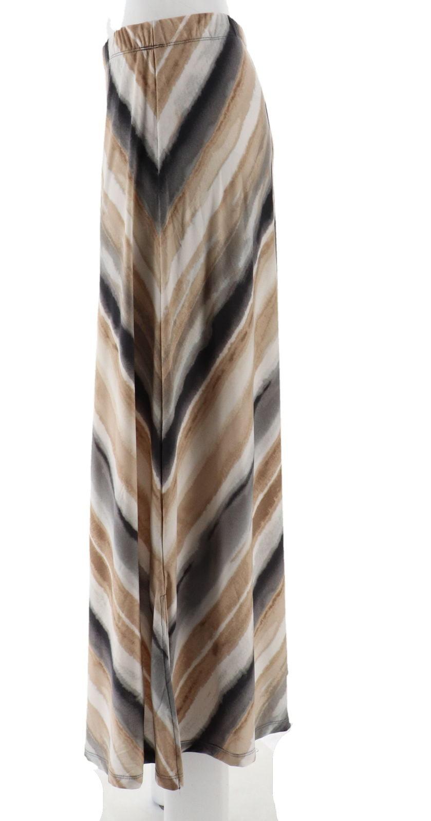 05a42df248 Susan Graver - Susan Graver Printed Liquid Knit Maxi Skirt Petite A290786 -  Walmart.com