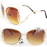 Soul Wireless M9231Gold City Women Fashion Sunglasses M9231 Gold Lightweight Metal Frame with Elegant Design