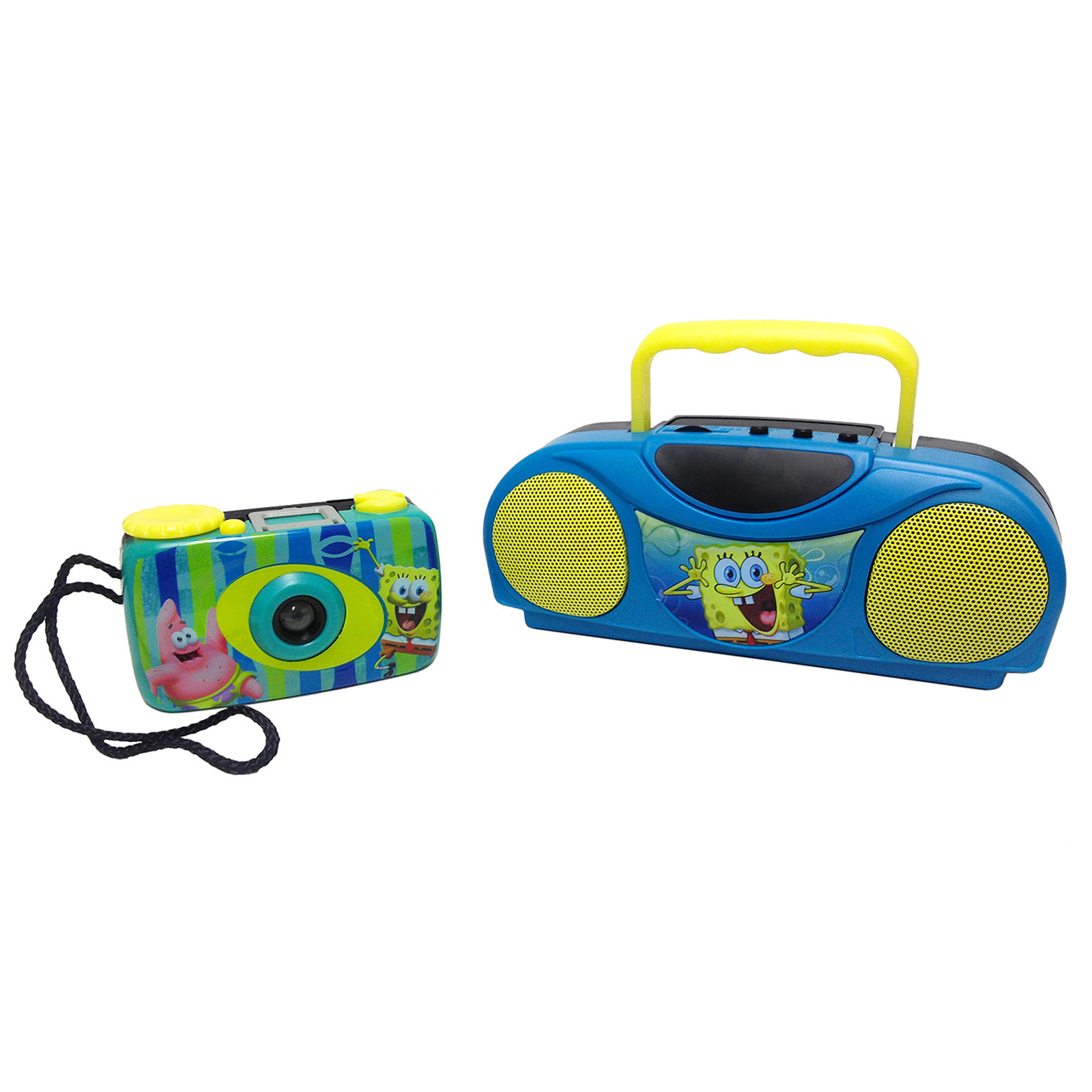 SpongeBob Squarepants Camera and Radio Kit - Walmart.com